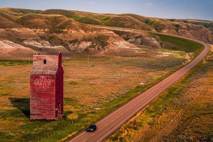 The Outskirts Of A Town Called Dorothy In Alberta