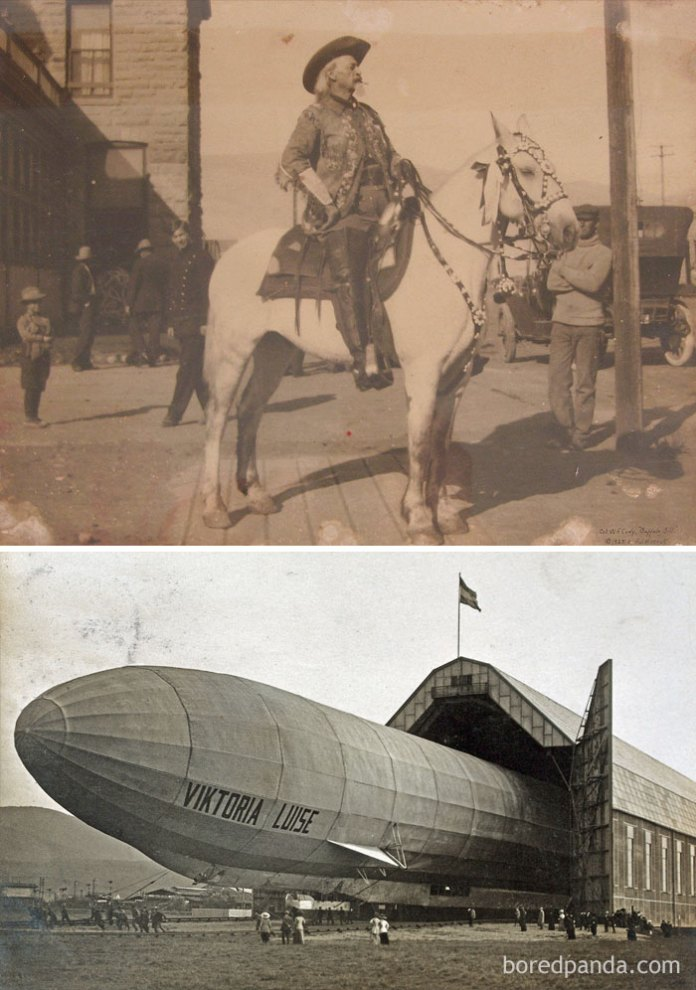 Buffalo Bill Cody Was Alive At The Same Time The Germans Were Bombing With Zeppelins (1916)