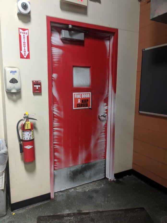 This Door At Work In Minnesota