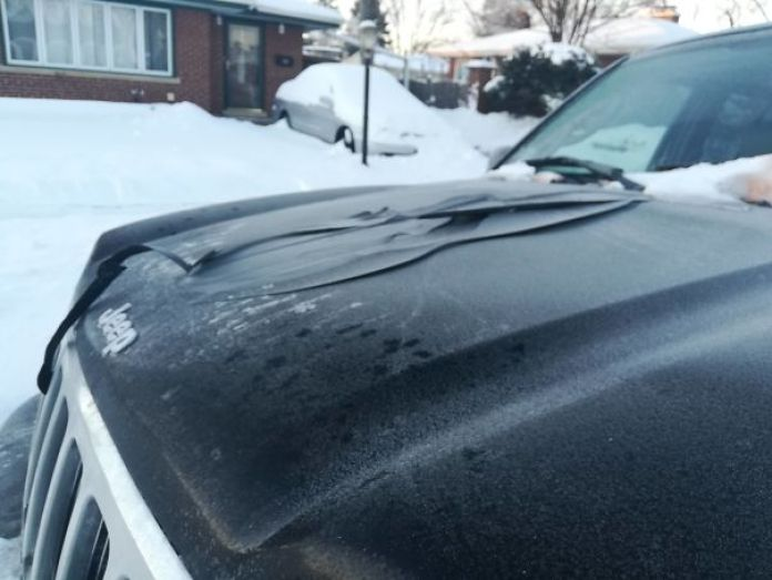 So Cold In Chicago That The Paint Came Off My Car