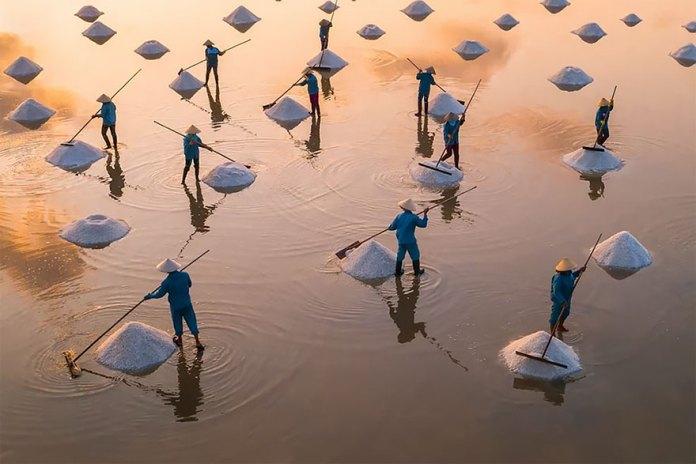 Hon Khoi Salt Field, Vietnam
