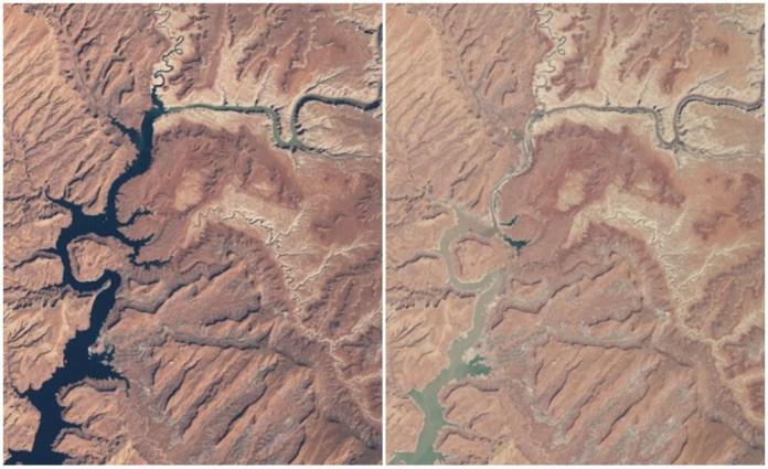 Powell Lake, Arizona, and Utah. March, 1999-May 2014