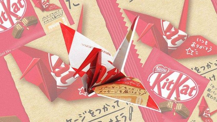 Origami KitKat