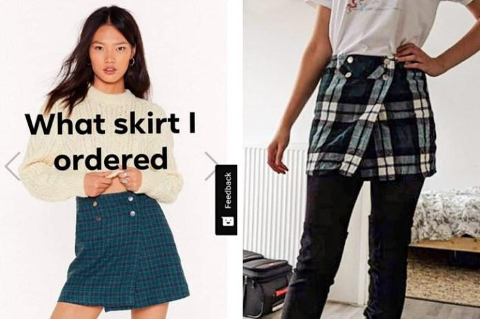 wrong skirt