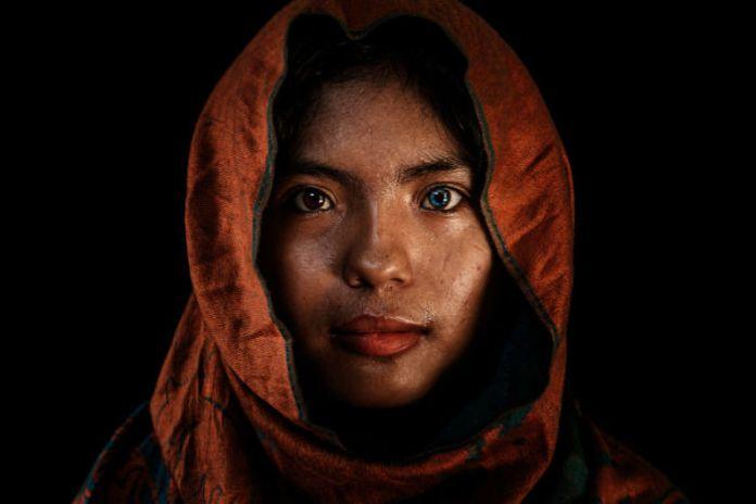 A muslim girl