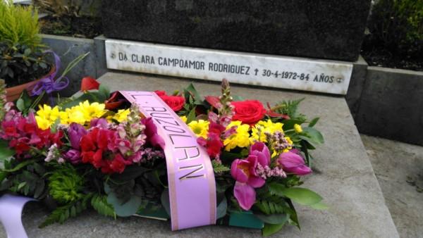 Homenaje a Clara campoamor