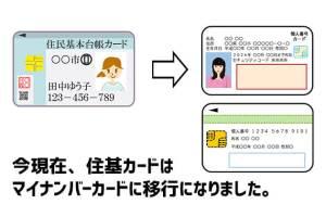 住基カードの取得方法【現在はマイナンバーカード】
