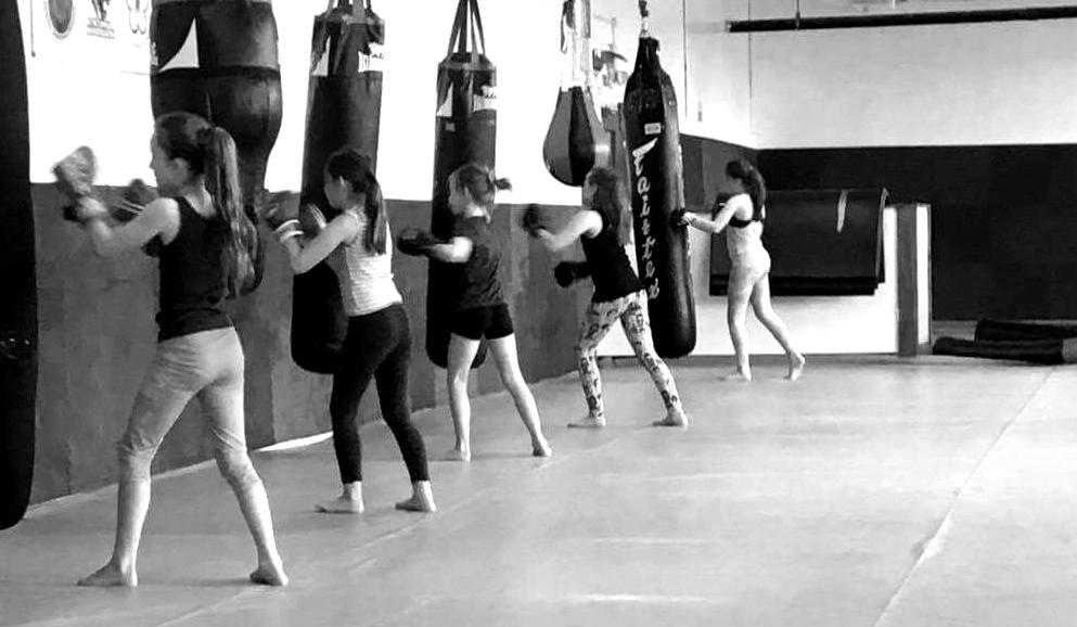 Girls Kick Boxing Keighley