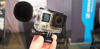 Sennheiser GoPro microfoon