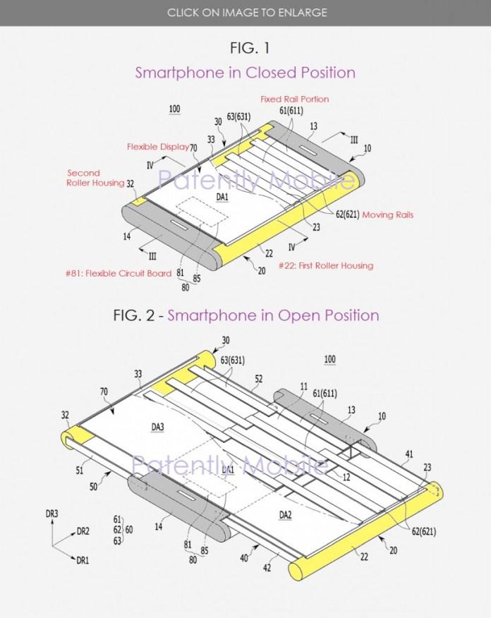 Samsung uitbreidbaar scherm