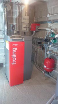 chaudière à granulé de 10 kw raccorder sur un reseau radiateur