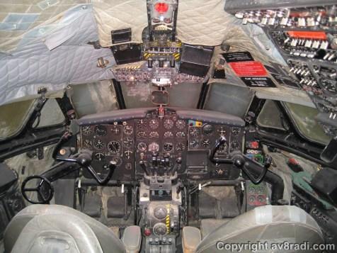 BOAC Comet Flight Deck