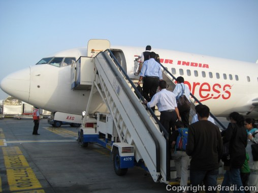Boarding...got shouted at for taking this pic...well...it was worth it!! ;) :)