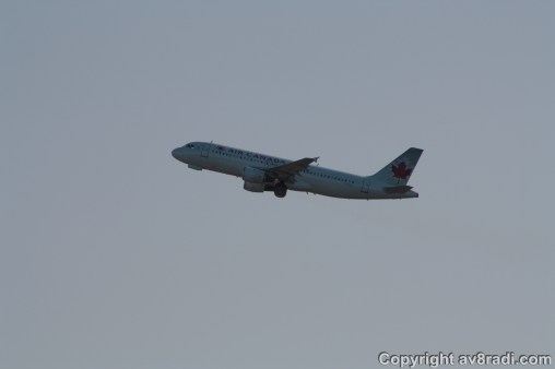 Air Canada's A320…Kinda like the one i flew in 2010 (Taken while Spotting At YOW (Early 2013))
