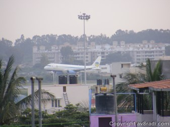 Air Deccan's A320…later part of Kingfisher Airlines…flying as KF Red…and now no more!