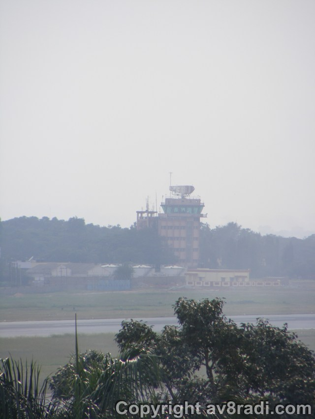 The HAL airport control tower…taken from the HAL museum
