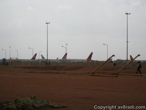 View of the new BLR ramp