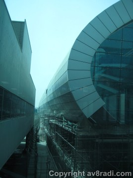 DXB Terminal 3 (T3) still under construction