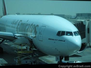 Our neighbor… A Boeing 777-200LR