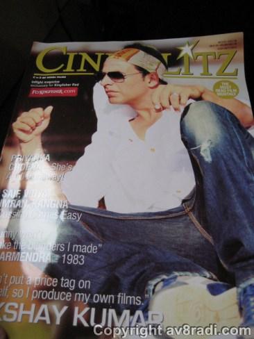 Inflight magazine – too much gossip :S