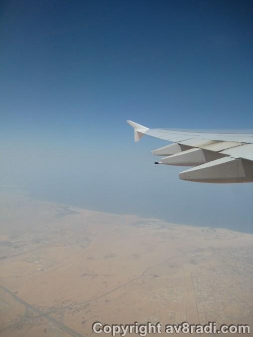 Heading north ….