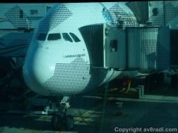 My ride to YYZ Airbus A380 A6-EDD