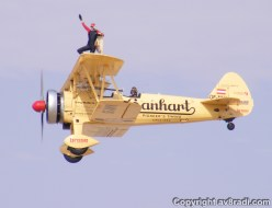 Close up of Peggy Wing walking