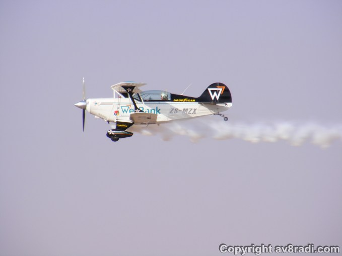A close up of one of the Pitts