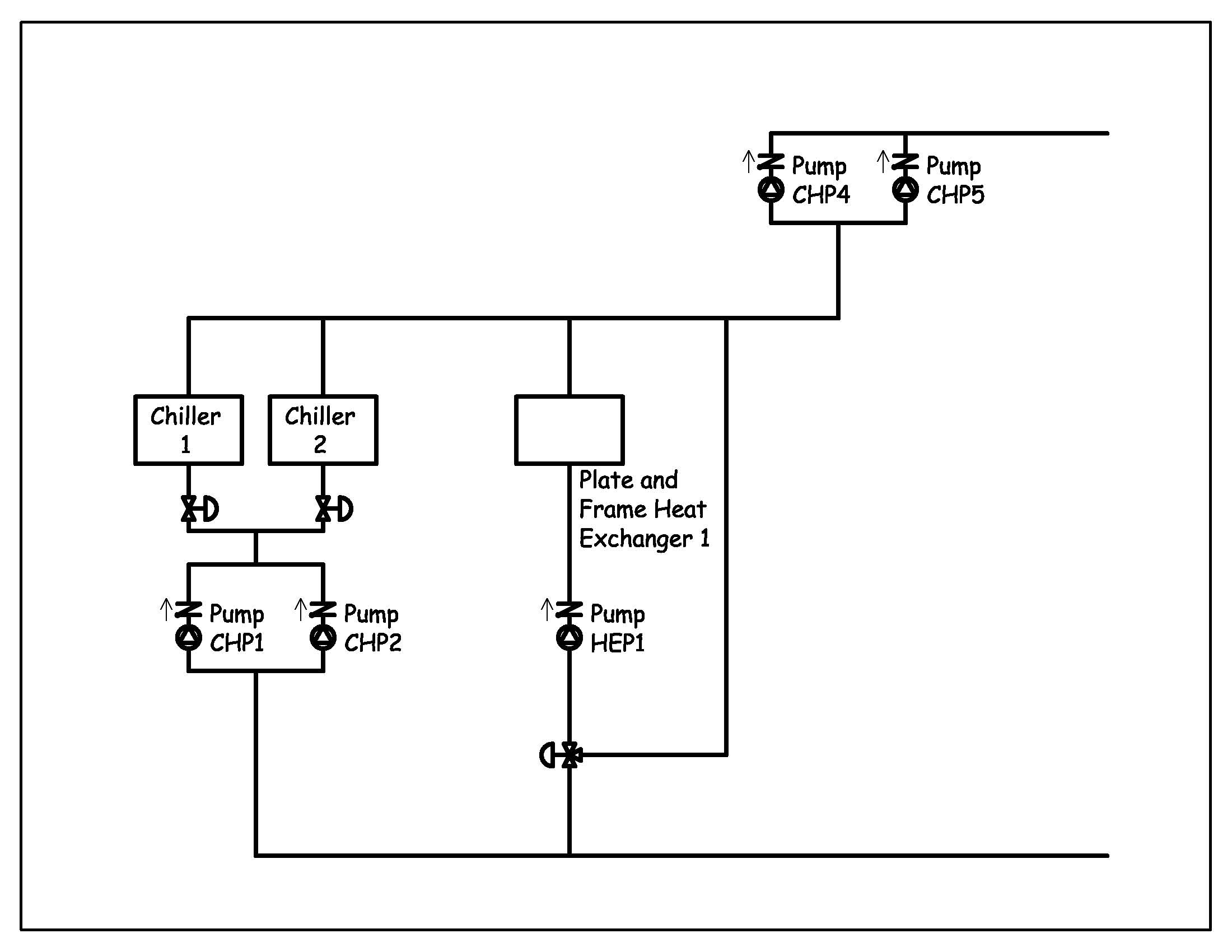 Primary Secondary Piping Diagrams Zone Valves With
