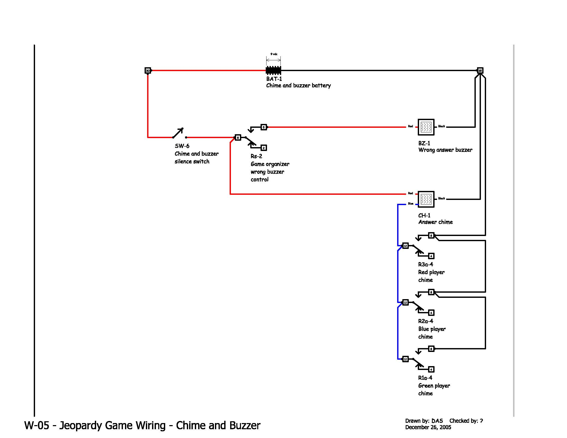 Jeopardy Wiring Diagram