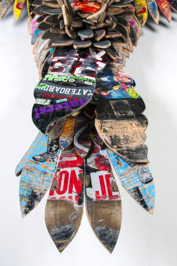SubAmericana-Emperor-06-SkateboardSpraypaintSculpture