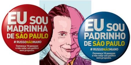 Contra a eleição de Celso Russomanno em São Paulo