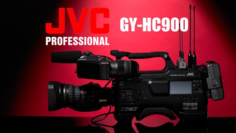 Nueva JVC GY-HC900 la cámara súper-conectada