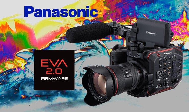 Panasonic AU-EVA1, nueva versión, el impulso definitivo