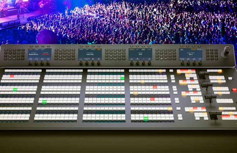 Nuevos Advanced Panel de Blackmagic Design