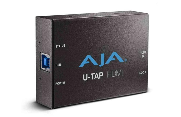 Actualización AJA U-TAP v1.5.