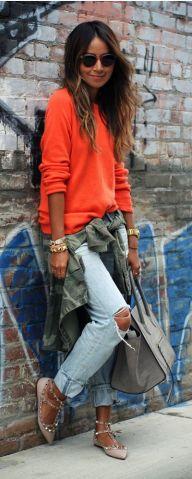 orange-sweater