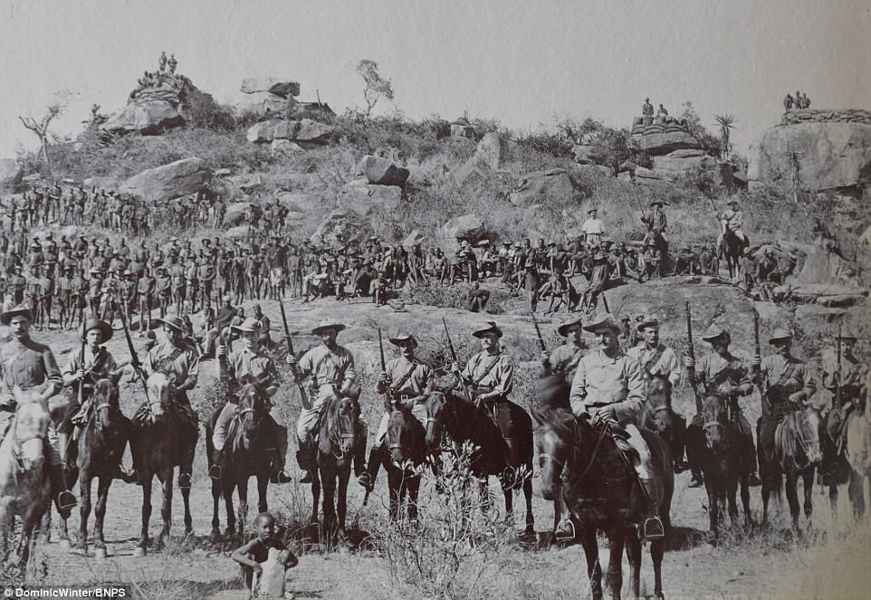 19th century pictures of British colonisation of Zimbabwe.