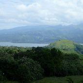 vue sur l'isthme de Taravao