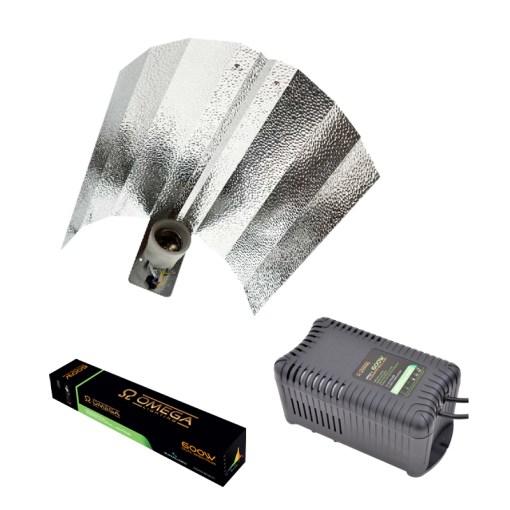 Omega Pro V 600w Compact Light Kit