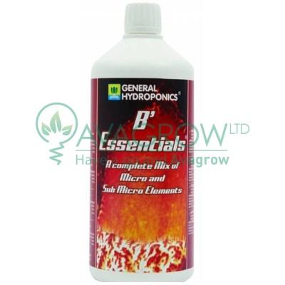 General Hydroponics GHE B Essentials 1L