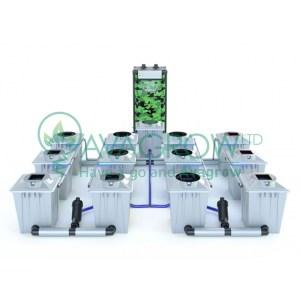 Alien RDWC 20L Pro Silver Series 12 Pot