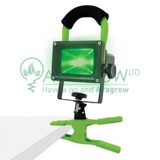 LumII Green Led Work Light A