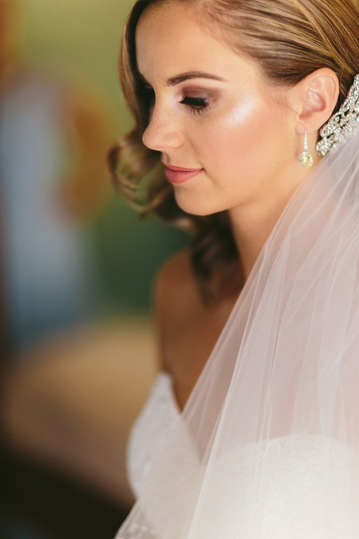 natural glowing bridal hair and makeup in Melbourne