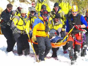 Berthoud Pass Avalanche 2007