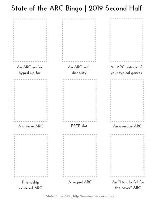 State of the ARC bingo 2019