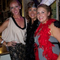 {On The Town} host Jacqueline Jax at The Great Gatspy Party in Fort Lauderdale