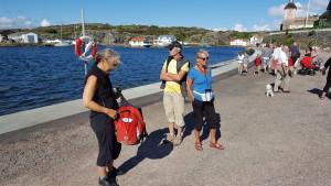 An der nördlichen Promenade von Marstrand