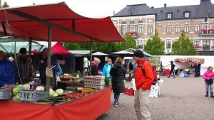 Auf dem Mittwochsmarkt in Varberg