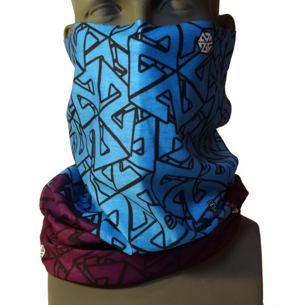 AVALON7 Tshield snowboarding Facemask Teal Purple